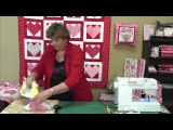 Quilting Valentine's Hearts Using Charm Packs