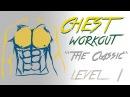 Базовая тренировка для грудных мышц - Уровень 1 - No Music
