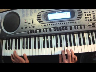 Iron Maiden - Fear Of The Dark, On Piano (How To) [HD]