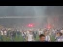 Динамо Киев - Шахтер Донецк 04.06.15 беспорядки на стадионе