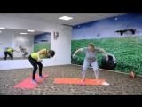 Стройное тело с Бодифлекс.  3 упражнения с гантелями.