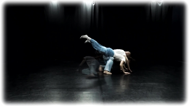 Contact improvisation Ruslan Baranov Marina Baranova