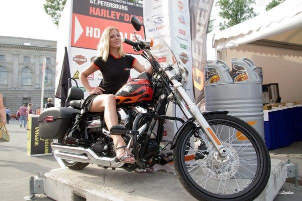 Фестиваль «Дни Harley-Davidson в Петербурге»