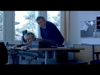 Iben hjejle the boss of it all (2006) (эротическая постельная сцена из фильма знаменитость трахается голая занимается сексом)
