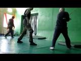 Обычная тренировка в Школе каскадеров