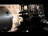 Как фрезеровать на токарном станке [HD, 720p]
