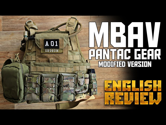 PANTAC MBAV PLATE CARRIER - MODIFIED VERSION