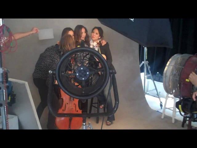 Ahn Trio Photoshoot with Patrick Demarchelier