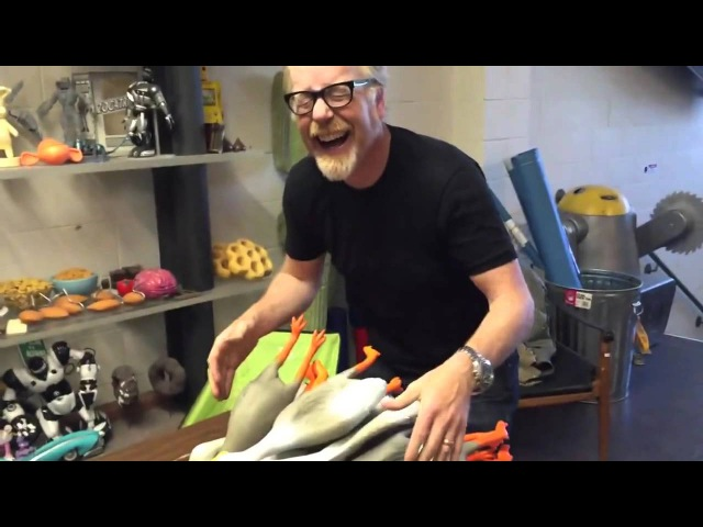 Прикол разрушители мифов и резиновые утки Mythbusters Adam Savage Finds The Duck Army