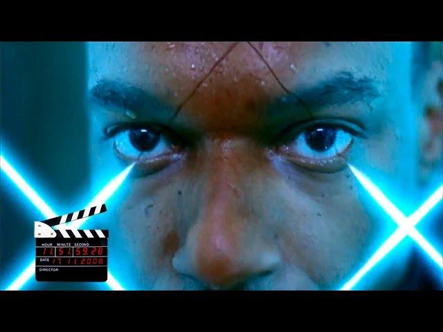 Обитель зла/Resident Evil (2002)(RUS), сцена с лазерами