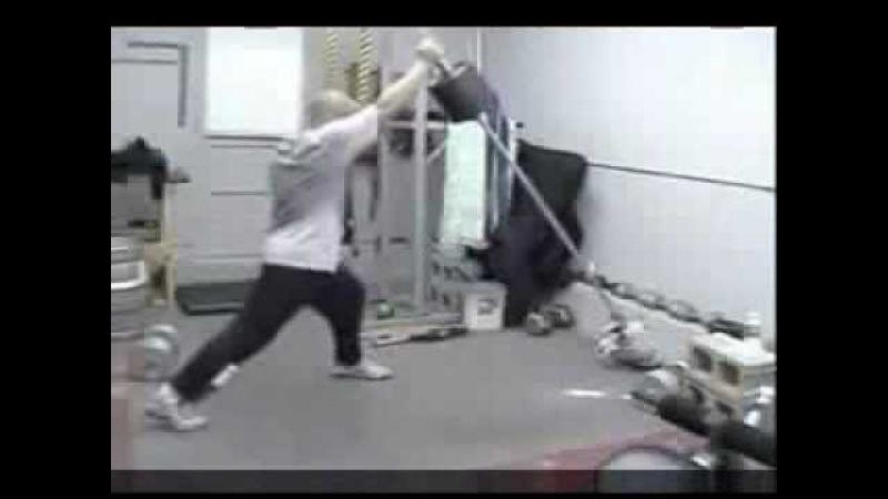 Тренировки ОФП боксеров