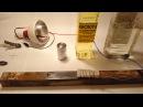 защита металла от коррозии, оцинковка в домашних условиях. Metal protection.