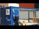 Сборка блок контейнера CONTAINEX. Офисные блок-контейнеры Контейнекс