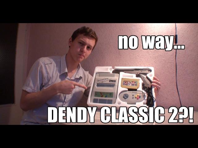 Чудеса новодела №6 Клон Dendy Classic 2 Video Game GT3300K