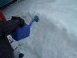 Как сделать детскую ледяную горку