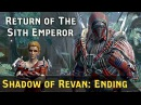 SWTOR Shadow of Revan Ending Return of the Sith Emperor Empire 8