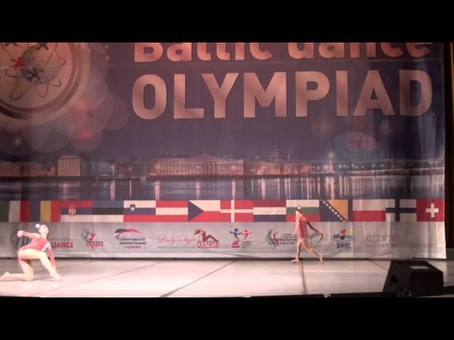 00203 БТО 2015. European Championship. Балет. Юниоры, дуэты, финал