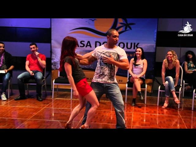 Brazilian Zouk Invitational Jack Jill 1st Place - Kadu Larissa