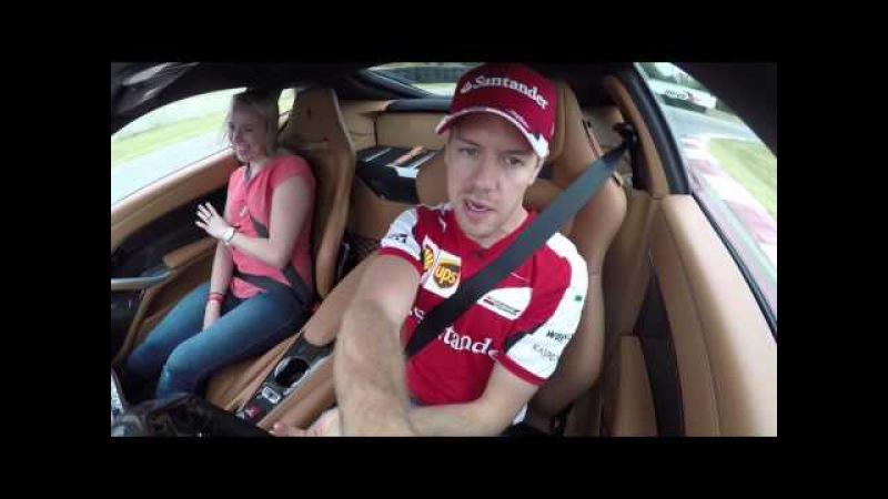 Autoweek Ride Along With Sebastian Vettel, 2015 U.S. Grand Prix