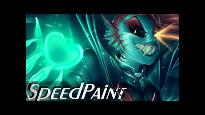 Undyne the Undying SPEEDPAINT - The True Hero (Undertale)