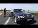 старый Mercedes S 600 V12 Biturbo 0 270km h