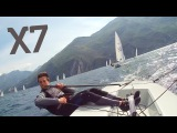 ACTIONPRO X7 - Laser Sailing Lake Garda Wecamz