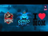 Team Empire vs MB #2 (bo3) (Ru) | Captains Draft 3.0 (14.02.2016) Dota 2