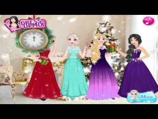 Princess Disney Glittery Party Ariel Elsa Rapunzel and Jasmin