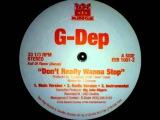 G-Dep - Don't Really Wanna Stop (Instrumental) (1995) [HQ]