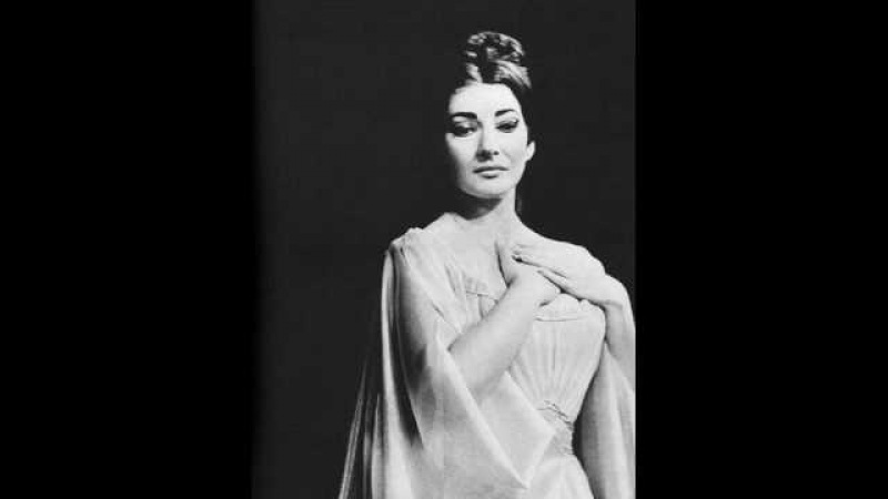 Maria Callas - Bizet - Pearlfishers - Me voila seule