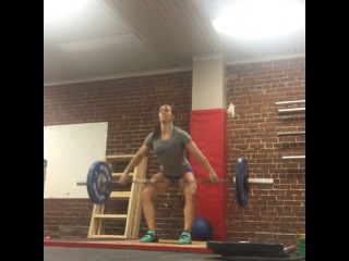 """Camille Leblanc-Bazinet on Instagram: """"Going lighter and working on those positions! Good to refresh the brain as to how to move well! Not always for PR... Get@something out of…"""""""