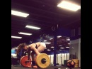 "Brooke Wells on Instagram: ""Consistency is 🔑!! Lots of work on hang snatches lately & I ❤️ it. Working on being super fast under the bar!  Snatch + Hang Snatch at 180#"""