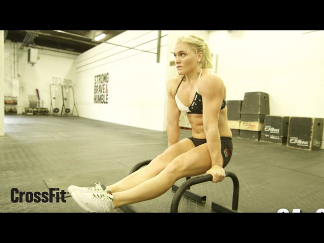 Katrin Tanja Davidsdottir: Workout for August 30, 2015