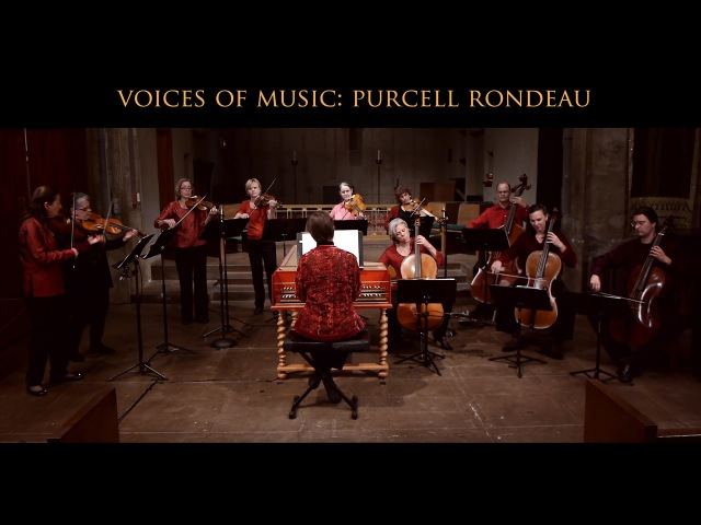 Henry Purcell: Rondeau from Abdelazer (Z570), Voices of Music; original instruments 4K UHD