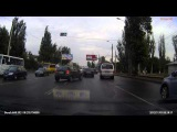 ДТП пешеход на зебре Одесса 12.09.2015 Смотреть с 1:40