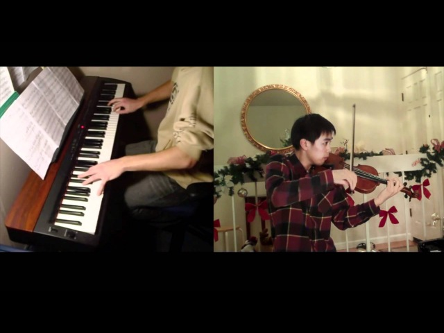 Pirates of the Caribbean He's a Pirate piano violin FT Kyle Landry