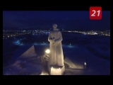 Ночной полёт над Мурманском