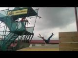 x-park прыжки)я сделала сальто)