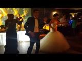 Зажигательный свадебный танец молодоженов и их свидетелей! Свадьба Эрвина и Маши! 27.11.2015