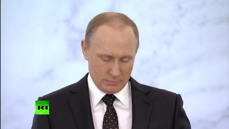 Владимир Путин завершил обращение к ФС РФ цитатой Менделеева