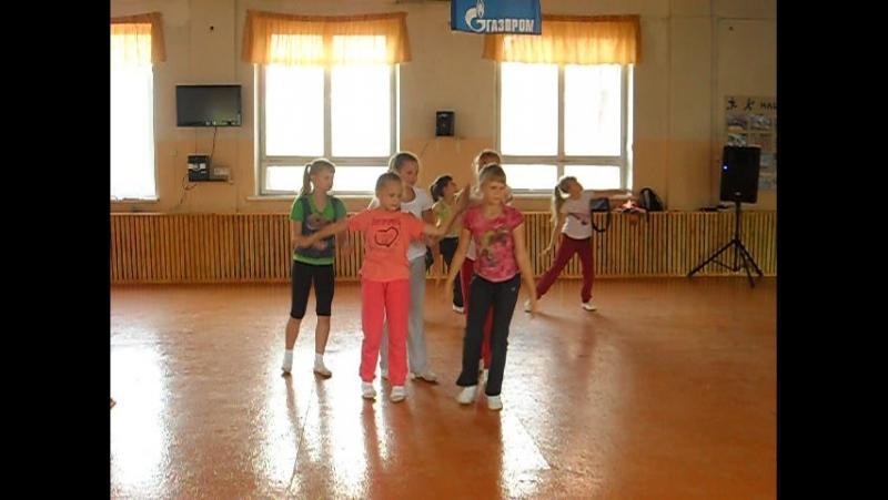 танцевальный гимнастический колектив Ласточка
