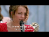 HD Miley Cyrus - The Climb (Hannah Montana The Movie) Lyrics On Screen