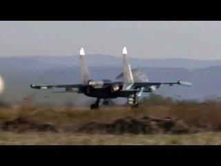 В Сирии российские ВКС активно бьют по позициям террористов `Исламского государства` - Первый канал
