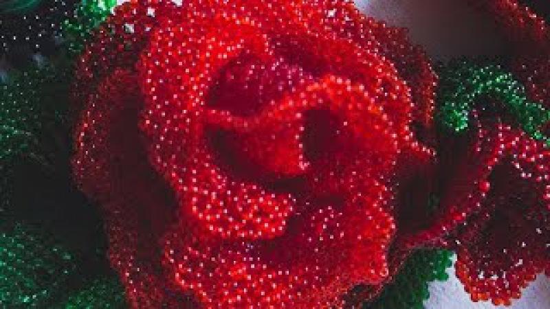 роза в технике ажурного плетения 💋🌸🌷🌺🐱🎁🐱🌺🌸🌷💋 @club116241789 (Ленты_шибори_shibori_SPb-ФАЙНДЕР) Приобрести 🚚материалы можно тут канзаши лентыдлярукоделия