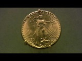 1933 Saint-Gaudens American Gold Double Eagle -- viewing the 7.5 million dollar coin