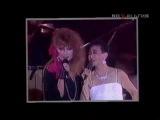 Алла Пугачёва с японской звездой Kato Tokiko в Токио поют