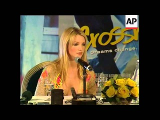 Britney Spears Crossroads Press Conference (E)
