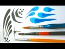 Learn to use and practice with round brushes - Face Painting Made Easy PART 3