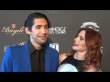 Max Landis and Chloe Dykstra arriving to the Wounded Warrior Amputee Softball Team Charity Gala