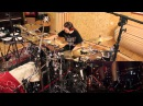 Peter Wildoer tracking drums for James LaBrie - Impermanent Resonance, February 2013_Episode 2